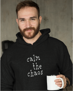 Calm The Chaos Men's Pullover Hoodie