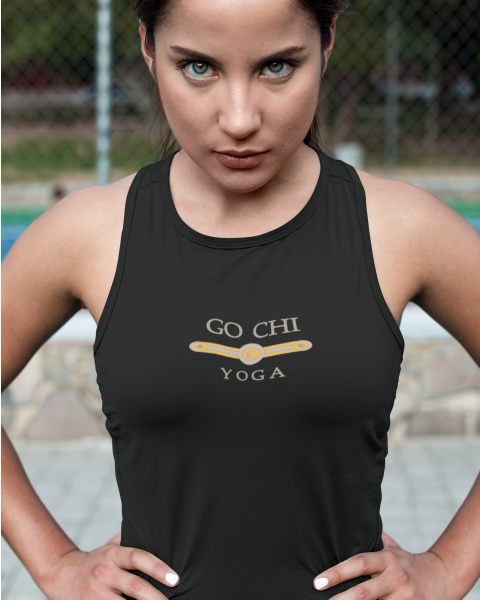GO CHI Yoga Racer Back Tank Top