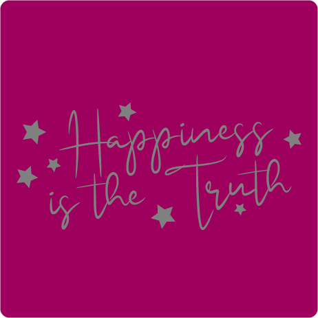 Happiness Is The Truth Ladies' Racer Back Tank Top