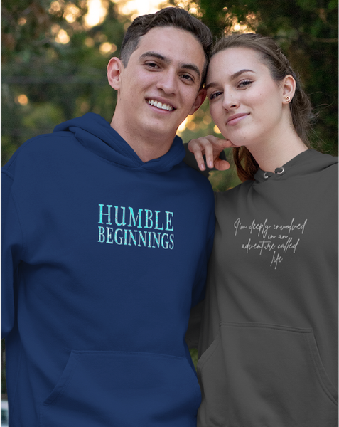 Humble Beginnings Men's Pullover Hoodie