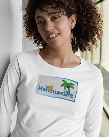 Tales From Mañanaville Ladies' Long Sleeve Tee