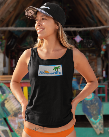 Tales From Mañanaville Ladies' Racerback Tank Top