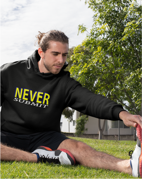 NEVER Submit Men's Pullover Hoodie