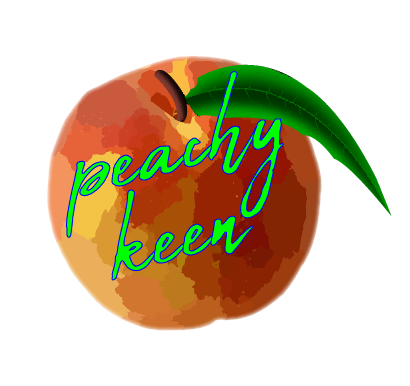 Peachy Keen Ladies' Tee