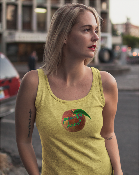 Peachy Keen Ladies' Racer Back Tank Top
