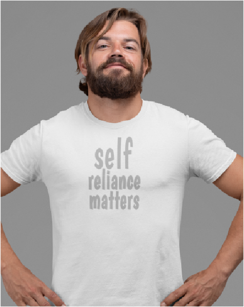 Self Reliance Matters Men's Tee