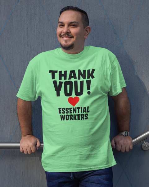 THANK YOU! Essential Workers Men's Tee