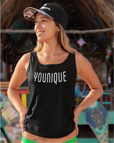 YOUNIQUE Ladies' Racer Back Tank Top