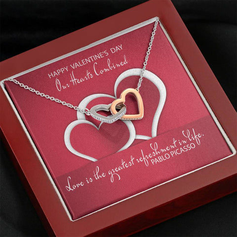 Our Combined Hearts Necklace