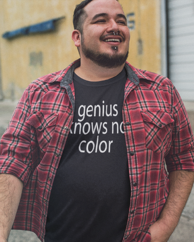genius knows no color Men's Tee