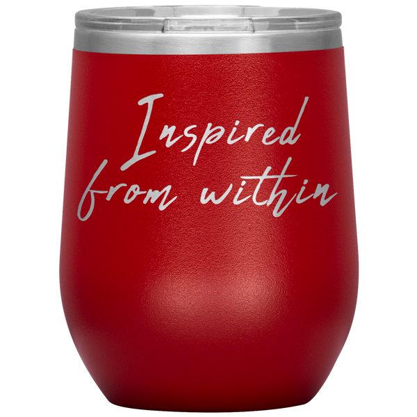 Inspired From Within 12 oz. Wine Tumbler