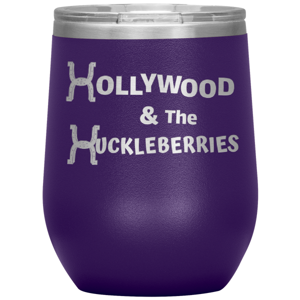 Hollywood & The Huckleberries 12 oz. Wine Tumbler