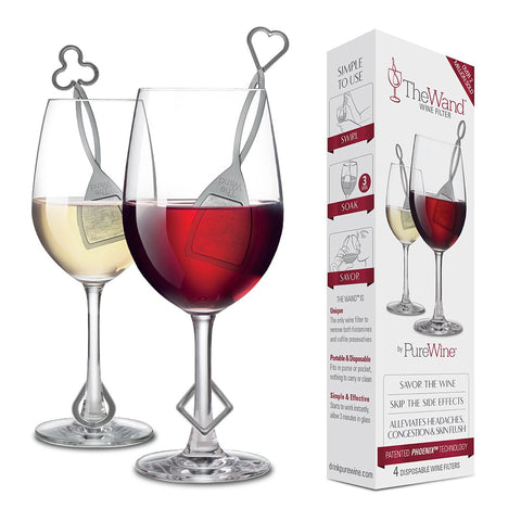 Pure Wine Wands -- 4 pack