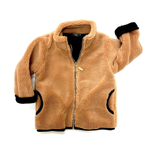 Little Bipsy Sherpa Jacket- Camel (SALE!)
