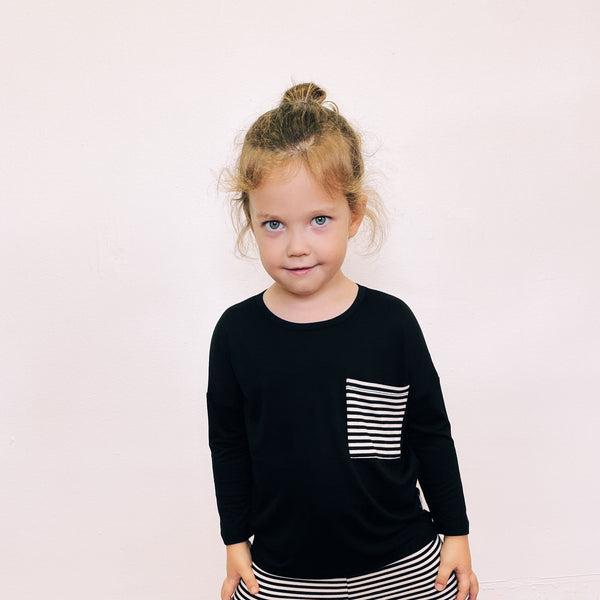 The Abi Top (mini) -- Black