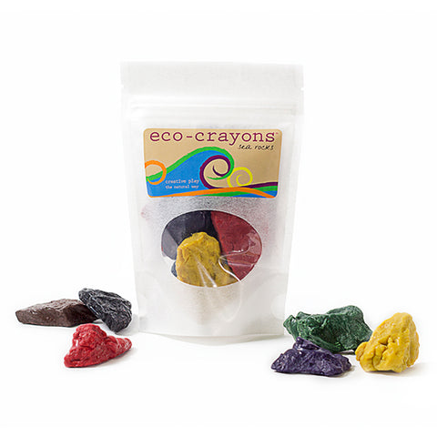 Eco Kids Beeswax Sea Rock Crayons