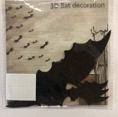 3D Bat Decorations