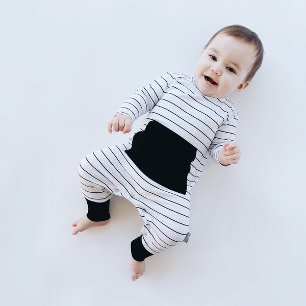 Wide Stripe Original Romper