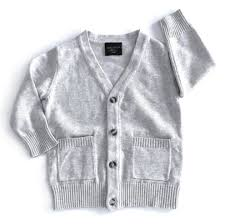 Little Bipsy The Perfect Cardi- Grey (Mom + Me) (Sale!)