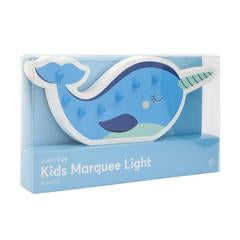 Narwhal Kids Marquee Light