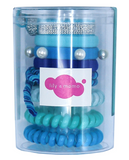 Lily & Momo Colorpop Hair Ties - Aqua