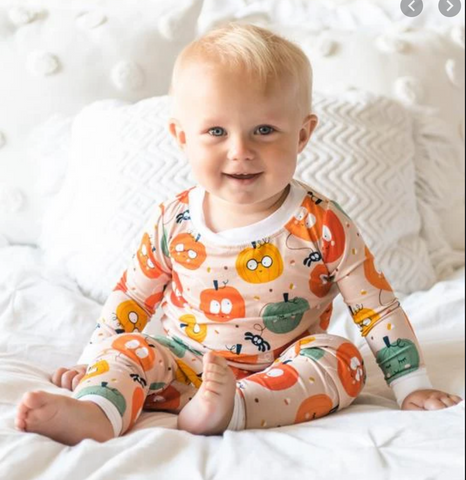 Little Sleepies Pumpkin Party Pajamas