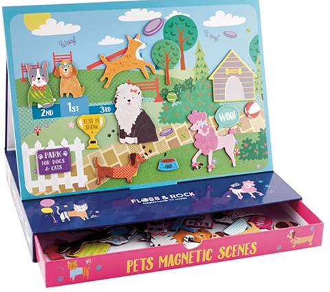 Floss and Rock - Pets Magnetic Play Scenes