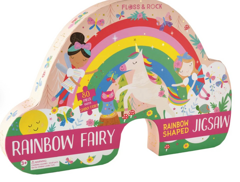 Floss and Rock - Rainbow 80pc Jigsaw Puzzle
