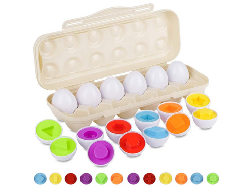 Egg Carton Matching Set