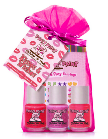 Piggy Paint Kisses + Wishes Gift Set