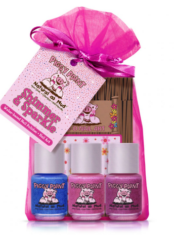 Piggy Paint Shimmer + Sparkle Gift Set