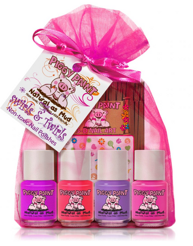 Piggy Paint Swirls and Twirls Polish Set