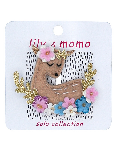 Lily & Momo Deer To Me Solo Hair Clip