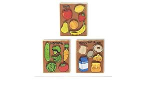 Begin Again- Food Puzzle- 3 pk