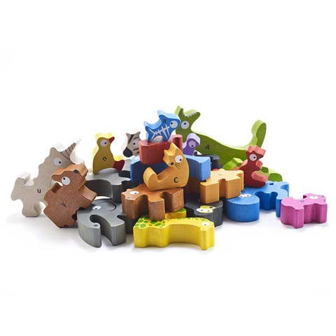 Begin Again- Animal Parade A to Z Puzzle