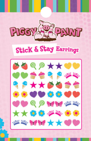 Piggy Paint Stick & Stay Earrings