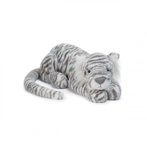 Jellycat Sacha Snow Tiger - Small
