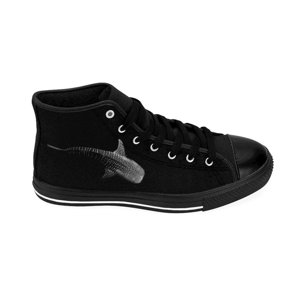 Whale Shark Ninja Women's High-top Sneakers