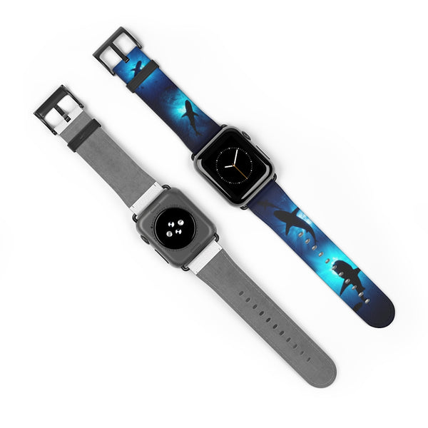 Shark Sunburst Watch Band
