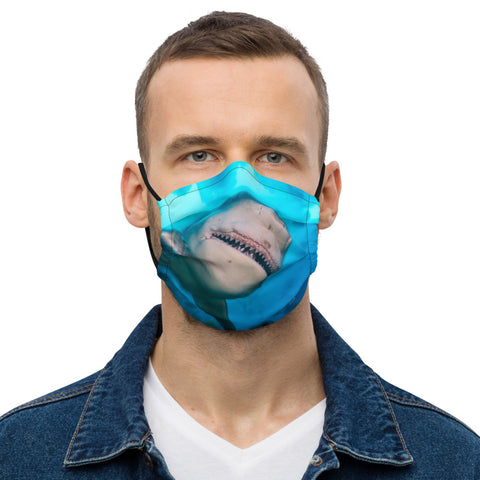 Bull Shark Premium face mask (with filter pocket)