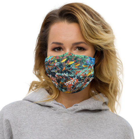 Anthias Reef Premium face mask (with filter pocket)