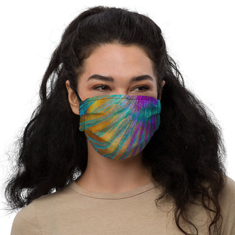 Parrotfish Fin Premium face mask