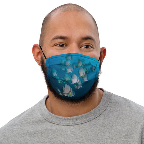 Batfish School Premium face mask (with filter pocket)