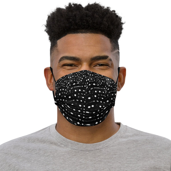 Whale Shark B&W Premium face mask (with filter pocket)