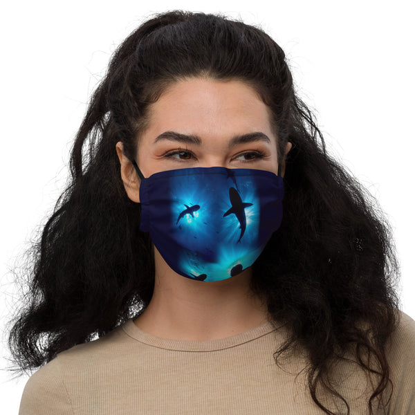 Shark Sunburst Premium face mask (with filter pocket)