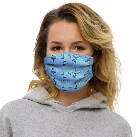 Mantas Everywhere Premium face mask (with filter pocket)