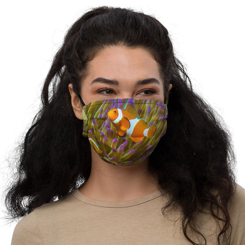 Clown & Anemone Premium face mask (with filter pocket)