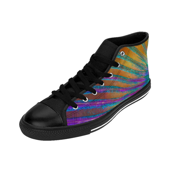 Parrotfish Fin Men's High-top Sneakers