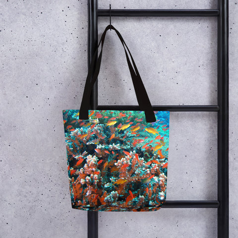 Anthias Reef Tote bag