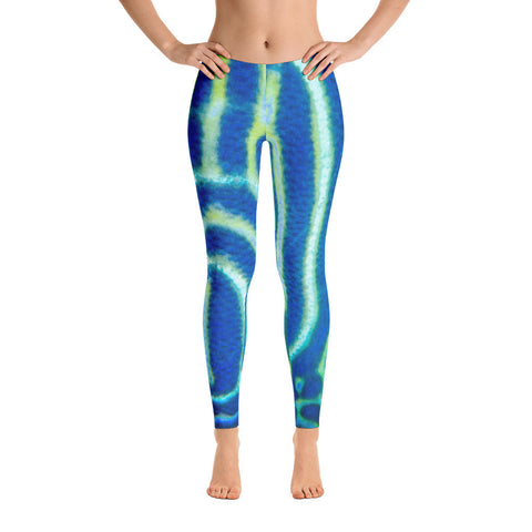 Juvenile Angelfish Leggings